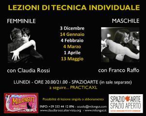 Programma Tecnica Femminile & Maschile 2018/19