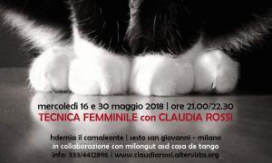 Tecnica Femminile - Maggio 2018